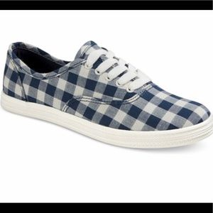Checkered sneakers!